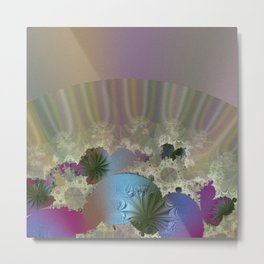 Under the calm surface Metal Print