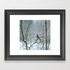 Crown of Snow Framed Art Print