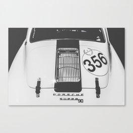 356 Black & White Canvas Print