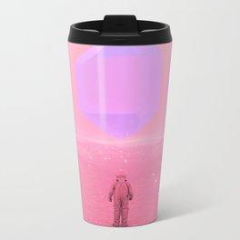 Lost Astronaut Series #03 - Floating Crystal Metal Travel Mug