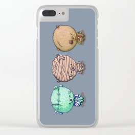 Three Little Monsters Clear iPhone Case