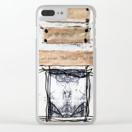Memory Storage Clear iPhone Case