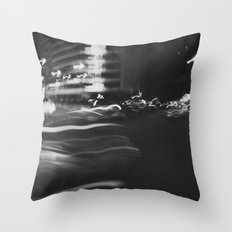 blur Throw Pillow