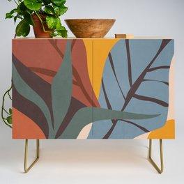 Abstract Art Jungle Credenza