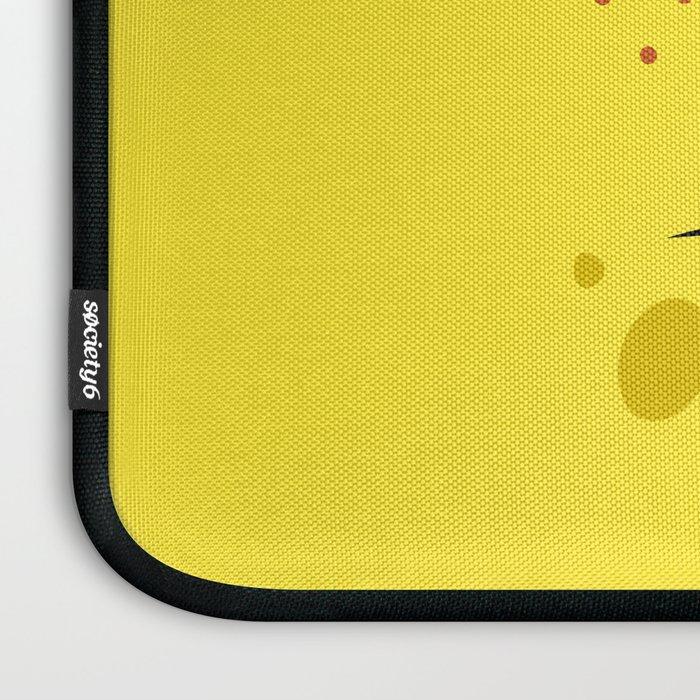 Spongebob Surprised Face Laptop Sleeve