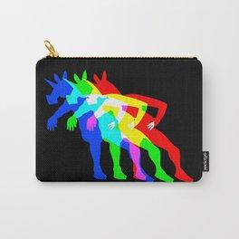RGB Unicorn V02 Carry-All Pouch