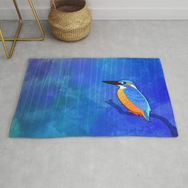 Common Kingfisher (Alcedo atthis) Rug