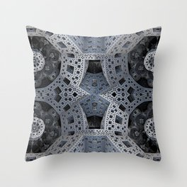 Fractal Art - spaceship drive Throw Pillow