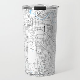 Ann Arbor, Michigan Travel Mug