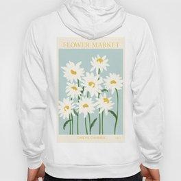 Flower Market - Oxeye daisies Hoody