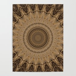 Sequential Baseline Mandala 15 Poster