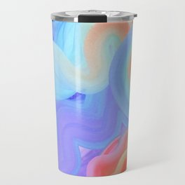 Curves and Colors  Travel Mug