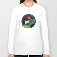 lily Long Sleeve T-shirts featuring Lily by Linda Wanders