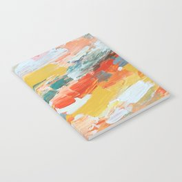 bursting brightly Notebook