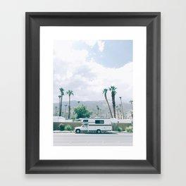 California Camper Framed Art Print