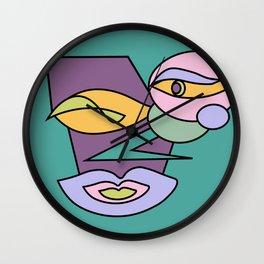 Cubic Dead Inside Wall Clock