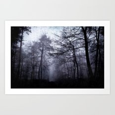 dark woods Art Print