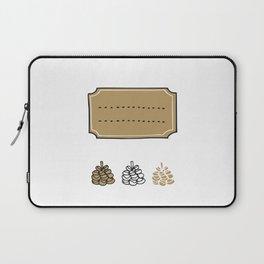 Winter Greetings Laptop Sleeve