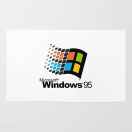 Windows 95 logo Rug