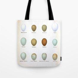Vintage Bird Eggs  Tote Bag