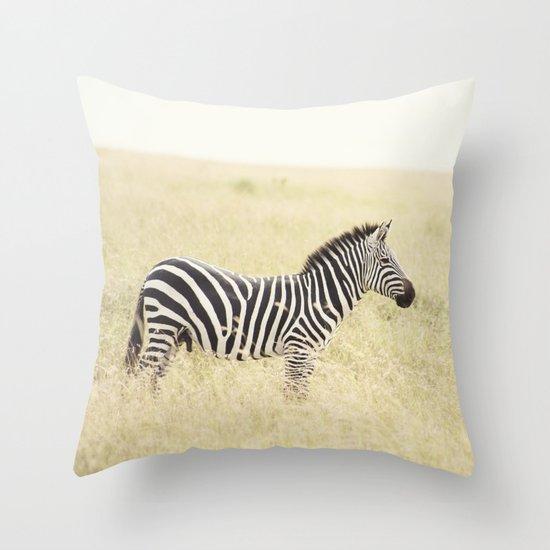be still::kenya Throw Pillow