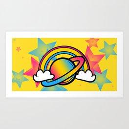 Space Queers: Pan Art Print