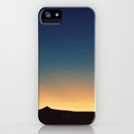 Southwestern Sunset iPhone Case