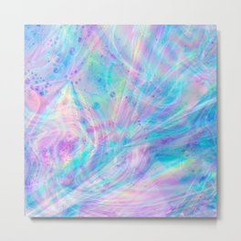 Unicorn Tears Metal Print