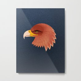 FAUNA / Golden Eagle Metal Print