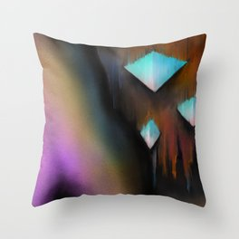Stalactites Throw Pillow