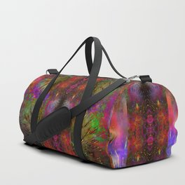 Pyrotechnic Pattern Duffle Bag