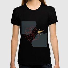 Blooming Desert Rose Abstract Art Series 3 T-shirt