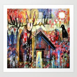 The House Of My Ancestors Art Print