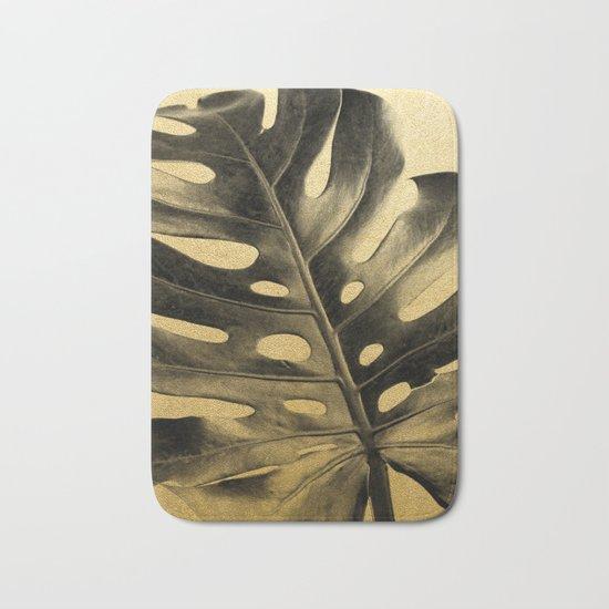 Golden Palms 02 Bath Mat