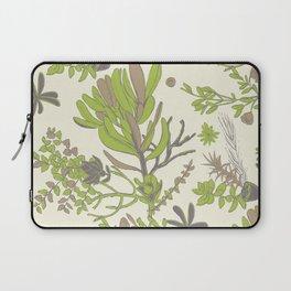 Cream Cradle Flora Laptop Sleeve