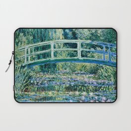 Claude Monet - Water Lilies And Japanese Bridge Laptop Sleeve