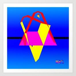 Geometrics One Version Two Art Print