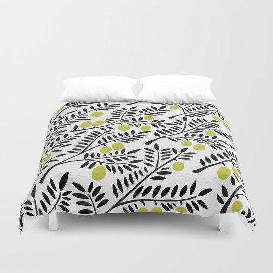 Little Lemons Duvet Cover