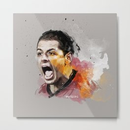 Chicarito Painting Metal Print