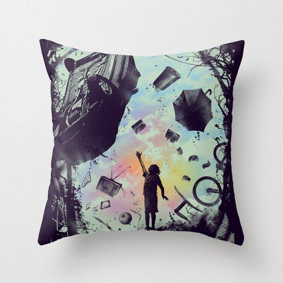 Gravity Play Throw Pillow