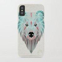 polar bear iPhone & iPod Cases featuring polar bear by Manoou