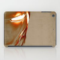 iron man iPad Cases featuring Iron Man by Fernando Vieira