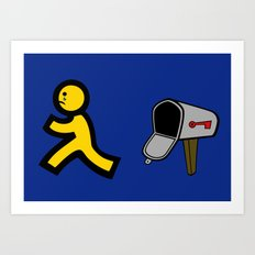 No Mail! Art Print