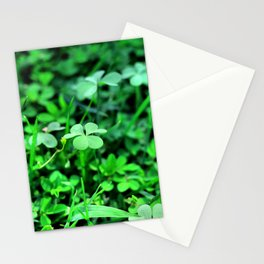 Clover Stay Stationery Cards