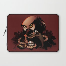 The Dead Cowboy, The Rattlesnake and The Owl Laptop Sleeve