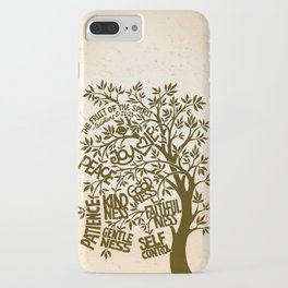 Fruit of the Spirit (Monotone) iPhone Case