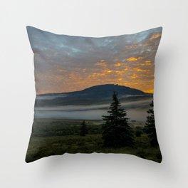 Bristol at Sunrise Throw Pillow