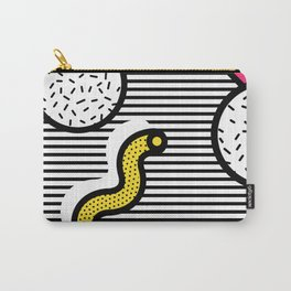 Memphis Pop-art Pattern VI Carry-All Pouch