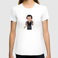 """springsteen T-shirts featuring The Boss by Michele """"Sonik"""" Bruseghin"""