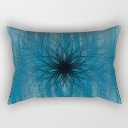 Dark Forest Mandala Rectangular Pillow